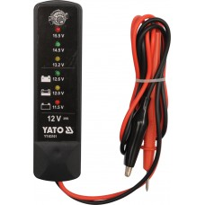 Tester acumulatori digital 12V YATO
