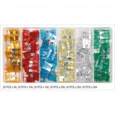 Set de 120 sigurante auto PCS standard Yato YT-83144