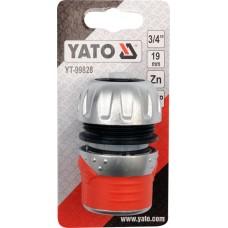 Conector cu opritor 3/4 YATO