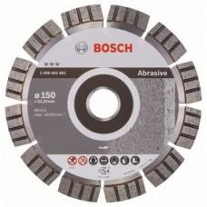 Bosch Best disc diamantat 150x22.23x2.4x12 mm pentru materiale abrazive