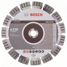 Bosch Best disc diamantat 230x22.23x2.4x15 mm pentru materiale abrazive