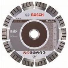Bosch Best disc diamantat 180x22.23x2.4x12 mm pentru materiale abrazive