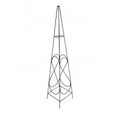 TOP GARDEN Suport metalic pentru flori cataratoare 150x30x30cm