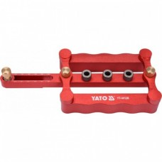 YATO Sablon pentru dibluri de Lemn, 6,8,10 mm
