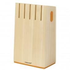 FISKARS FUNCTIONAL FORM Suport din lemn pentru cutite