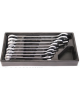 Set chei combinate 20 32 mm CRV 8 buc in organizator Topmaster Profesional