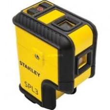 STANLEY Nivela laser SPL3 3 puncte rosii