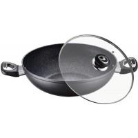 PETERHOF PH-15410-32 Tigaie wok aluminiu cu strat marmura 32 cm