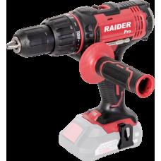 Raider Power Tools RDP-SCDI20 Masina de gaurit si insurubat cu percutie Li-Ion 20V,13mm 50 Nm