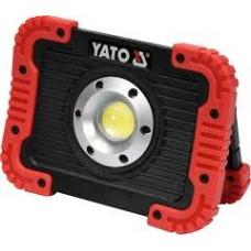 YATO YT-81820 Reflector LED cu acumulator,10W, 4400mAh,USB