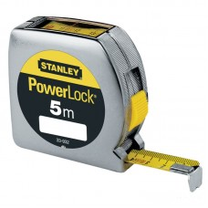 STANLEY Ruleta PowerLock classic cu fereastra de citire 5m x 19mm