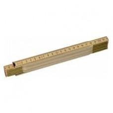 STANLEY Metru de tamplarie din lemn lacuit