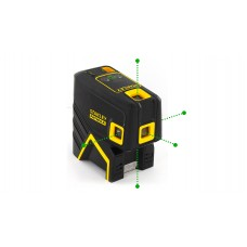 STANLEY Nivela cu laser cross Fat-Max 5 puncte verzi