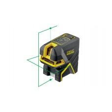 STANLEY Nivela cu laser cross Fat-Max 2 puncte verzi