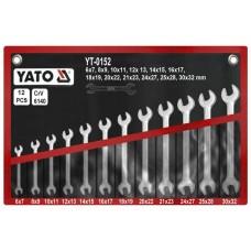 Set 12 chei fixe 6-32 mm YATO