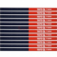 YT-69940 Set 12 creioane cu cap dublu in 2 culori YATO
