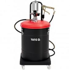 YATO Pompa pneumatica pentru gresat 45 l furtun 4 m