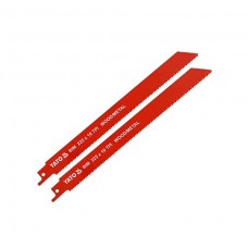YATO Set 2 lame pentru ferastrau sabie 225mm, 10TPI, lemn/metal