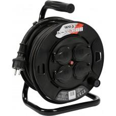 Yato Prelungitor electric 220 V pe tambur 20 m 4 prize IP44